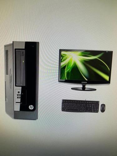 Desktop + Monitor Hp Core I3 - Seminovo