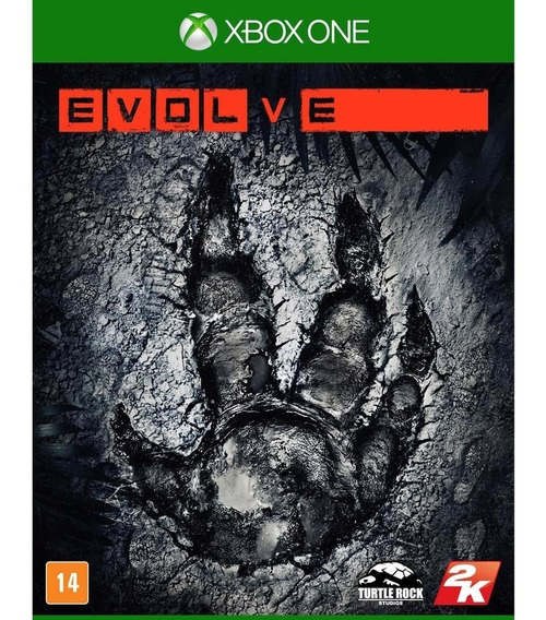 Evolve Game Xbox One Mídia Física Original Lacrado Promoção