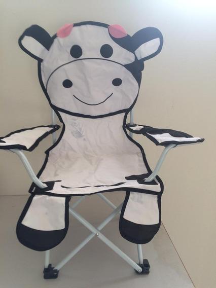 Cadeira Dobrável Infantil Criança Vaquinha Capri K921