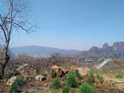 Terreno Rustico Con Hermosa Vista En Amatlán, A 10 Min De Tepoztlán, Morelos