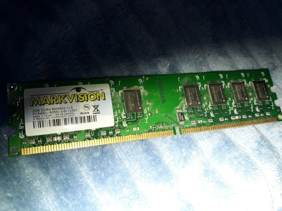 Memoria Ddr2 2gb 800mhz Markvision