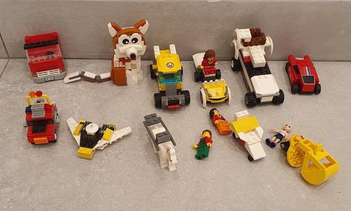 2 Lego Auto A Traccion Y Las Piezas Varias De La 1er Foto