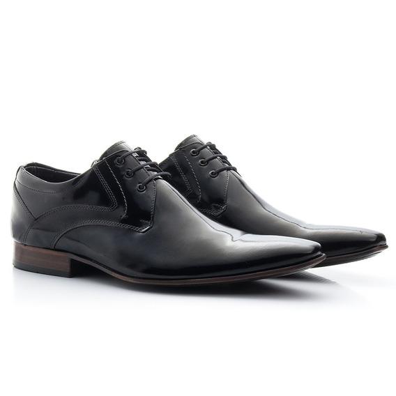 Sapato Social Masculino Clássico Oxford Cadarço Couro C379