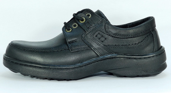 Free Comfort Zapato Acordonado Talles 46 Al 49 Negro 3254