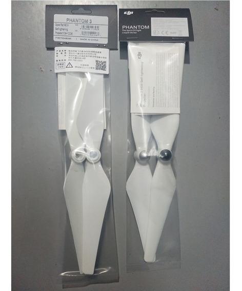 2 Pares De Helices Dji Phantom 3 (4 Unidades) 100% Original