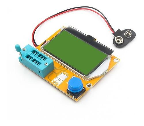 Medidor Esr Meter Lcr-t4 - Res./cap. + Teste De Led De Tv