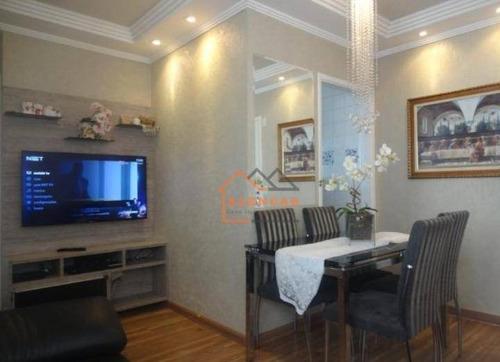 Imagem 1 de 14 de Apartamento À Venda, 49 M² Por R$ 234.000,00 - Vila Carmosina - São Paulo/sp - Ap0140