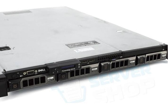 Dell Poweredge R410 2 Xeon E5649 Sixcore 1.2 Tb Sas 64gb Com