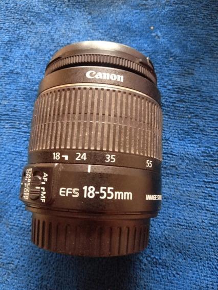 Lente Canon Ef-s 18-55mm F 3.5-5.6 Ls Ii - Geração 2