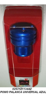 Pomos Tuning Corsa Negro Azul Rojo Cromado