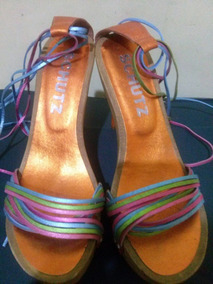 9c0551bd2b Tamanco Madeira Salto Fino - Sapatos no Mercado Livre Brasil