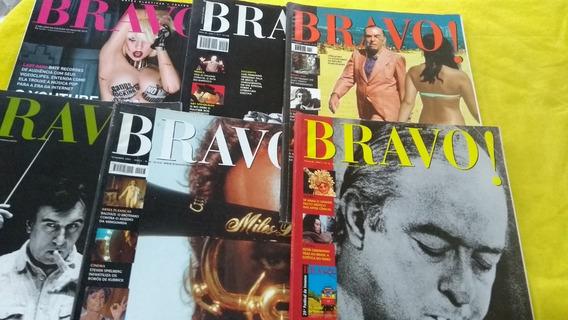 Bravo! Lote Com 6 Revistas Em Oferta Complete Sua Coleção