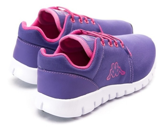 Zapatillas Deportivas Niños Kappa Jogg -violet Fuchsia