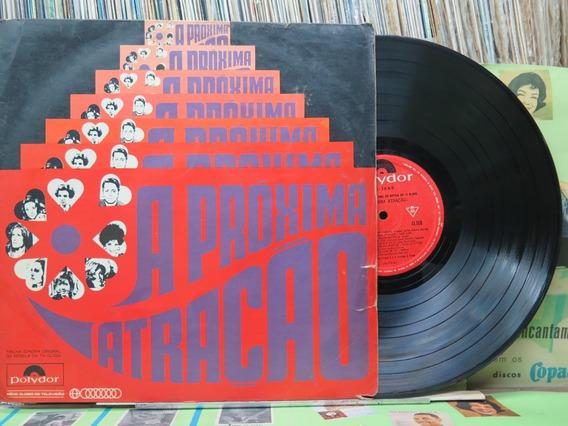 Próxima Atração Trilha Sonora Nacional Novela Lp Polydor1970