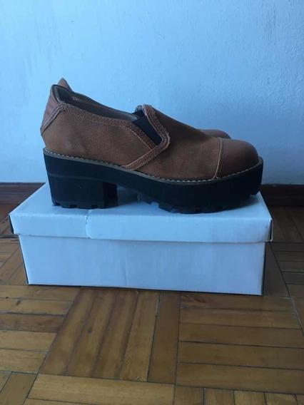 Zapato De Cuero Dama Talle 36