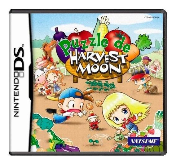 Puzzle De Harvest Moon Ds Mídia Física Pronta Entrega