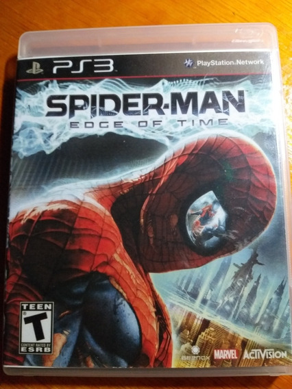 Spiderman Edge Of Time Ps3 Midia Fisica