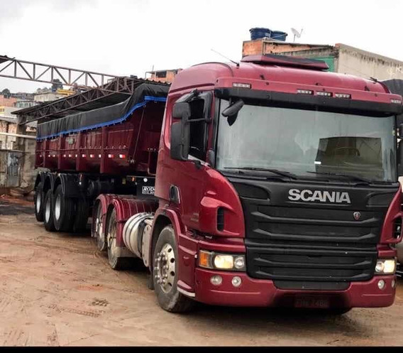 Scania P360 6x2 2013 Com Carreta Rodotec 2019 Conjunto