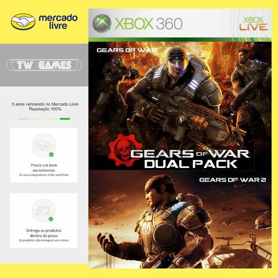 Gears Of War Dual Pack 1 E 2 - Digital - Xbox 360 Xbox One