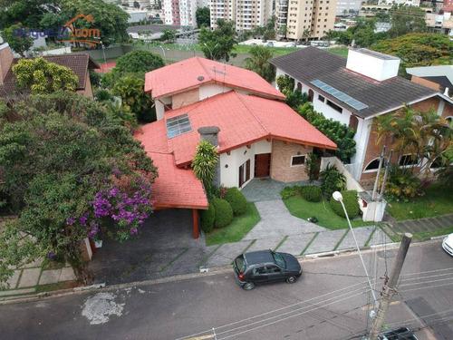 Imagem 1 de 16 de Casa Com 4 Dormitórios À Venda, 330 M² Por R$ 1.800.000,00 - Jardim Aquarius - São José Dos Campos/sp - Ca2565
