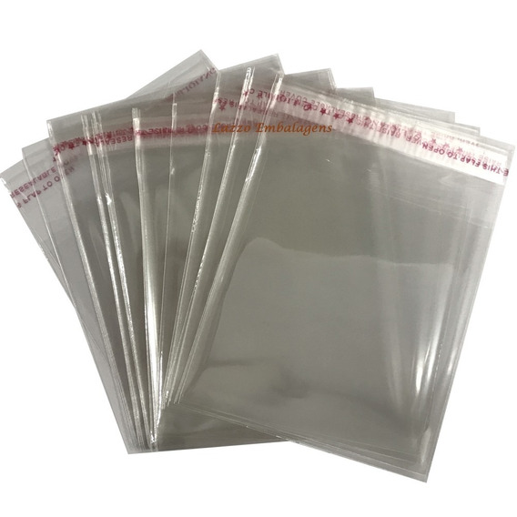 500 Sacos Adesivados 7,5x10 Cm + Aba Direto Do Importador