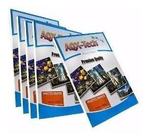 Papel Fotografico Glossy Brillante A4 180g 200 Hojas Calidad