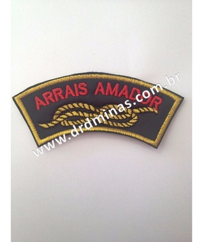 Patch / Distintivo Bordado Arrais Amador