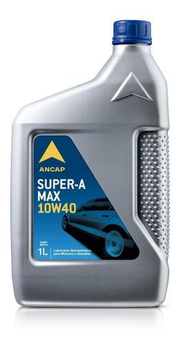 10w40 Semi-sintetico Ancap 1 Lt Lubricante Aceite Js Ltda.