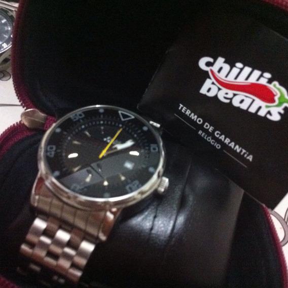 Relógio Chilly Beans Zero Na Caixa.