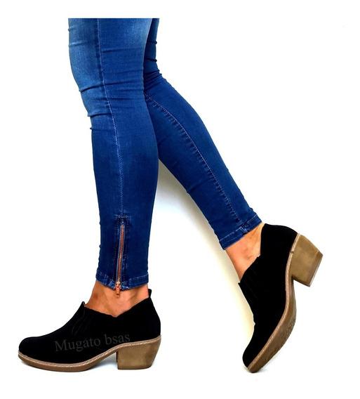 Bota Mujer Botineta Zapato Plataforma Mugato-bsas®