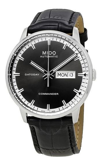 Relogio Mido M016.430.16.061.8 Commander Ii Automatico Preto