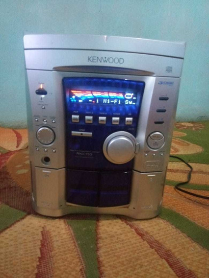 Micro System Kenwood Rxd 753 So A Sentrau Ler A Descricao