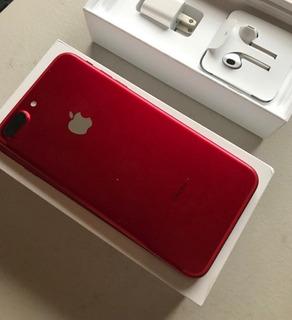 iPhone 7 Plus 128gb Res Vermelho Edição Limitada