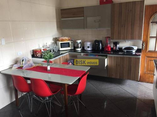 Imagem 1 de 26 de Sobrado Com 3 Dormitórios À Venda, 243 M² Por R$ 700.000,00 - Baeta Neves - São Bernardo Do Campo/sp - So0704