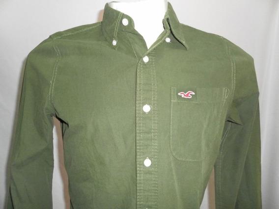 Camisa Esporte Hollister E Aber Masculino Medio Original