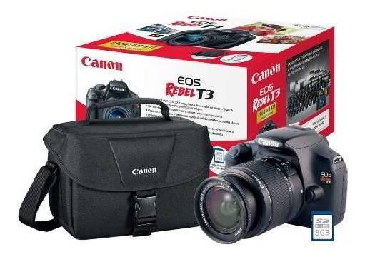 Máquina Fotográfica Cânon T3 - Kit Bolsa Anti-impacto.