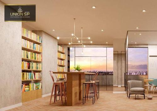 Imagem 1 de 12 de Studio Com 1 Dormitório À Venda, 23 M² Por R$ 250.355,00 - Alto Da Boa Vista - São Paulo/sp - St1140