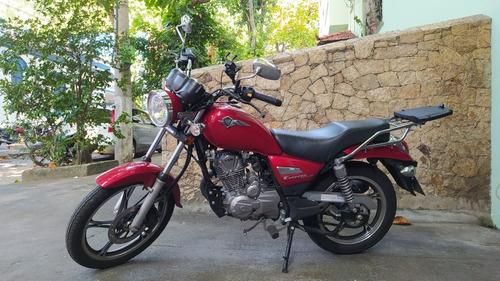 Moto Suzuki Haojue Chopper Road 150 Intruder 2021