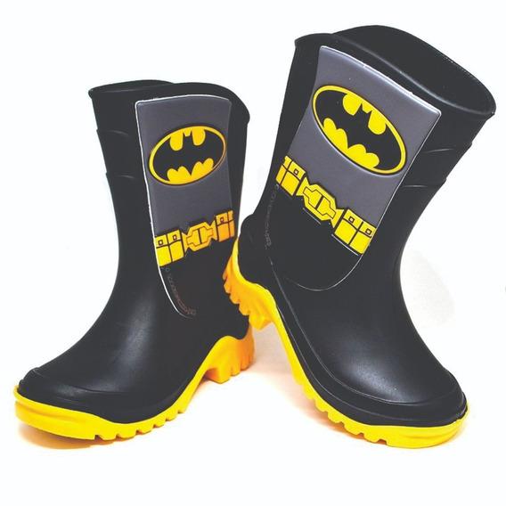 Botas De Lluvia Nenes Liga De La Justicia Batman