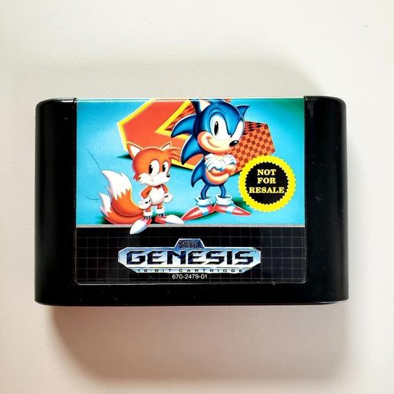 Sonic 2 Original Not For Resale Mega Drive Sega Genesis