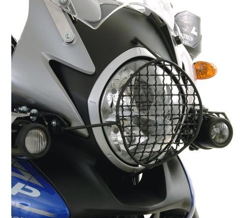 Protetor De Farol Em Aço Inox P/ Honda Transalp 2008