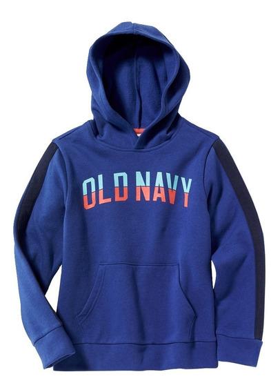 Sudadera Niño Hoodie Gorro Cerrada Estampada 392307 Old Navy