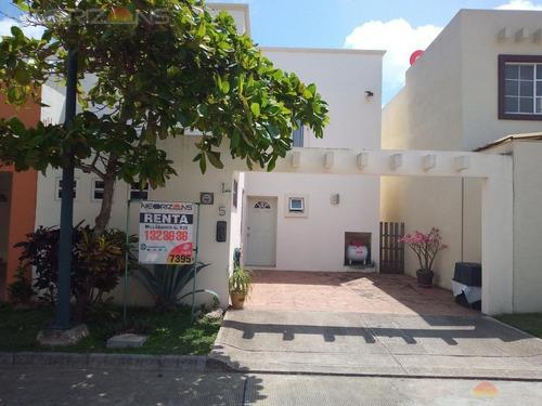 Casa En Renta Amueblada En Fracc. Villas Náutico, Altamira, Tamps.