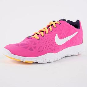 Tenis Nike Free Tr Fit 3 Dama Rosa