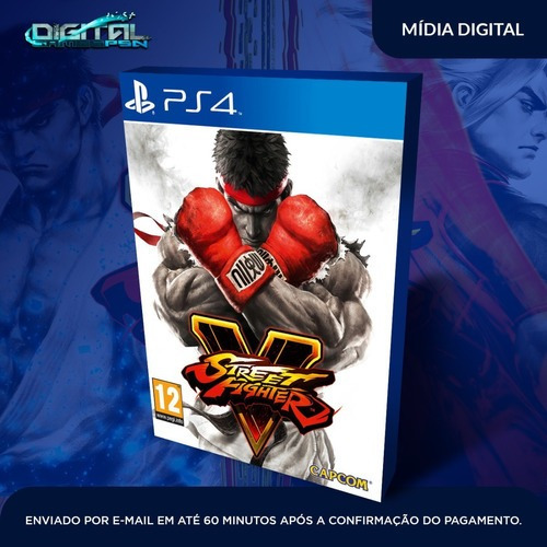 Street Fighter V Ps4 Psn Jogo Envio Rapido! Original