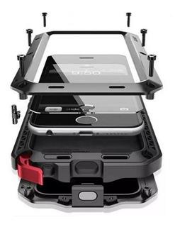 Funda Armor Survivor Huawei P30 Lite + Vidrio Metal Uso Rudo