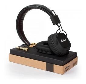 Headphone Marshall Major Black - Pronta Entrega Na Caixa