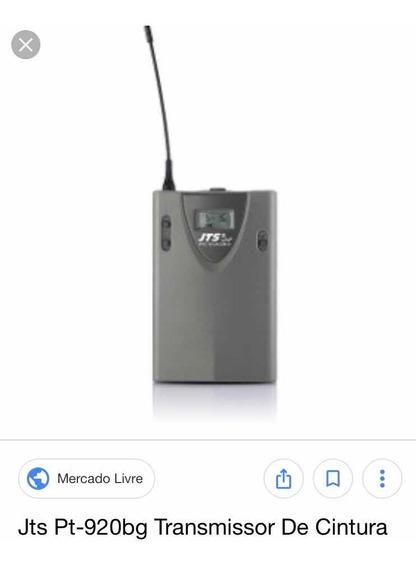 Receptor Jts Us 8010 Com Transmissor Jts Pt-920 Bg