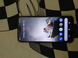 Nokia X6 Preto 4gb + 64gb Tampa Traseira Trincada