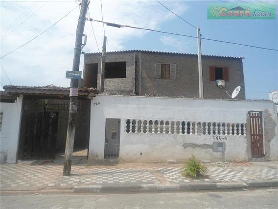 Sobrado Residencial À Venda, Agenor De Campos, Mongaguá. - Codigo: So0001 - So0001